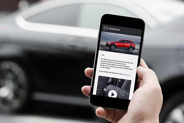 Vi udvikler automatiserede mailsflows for Mazda Motor Scandinavia