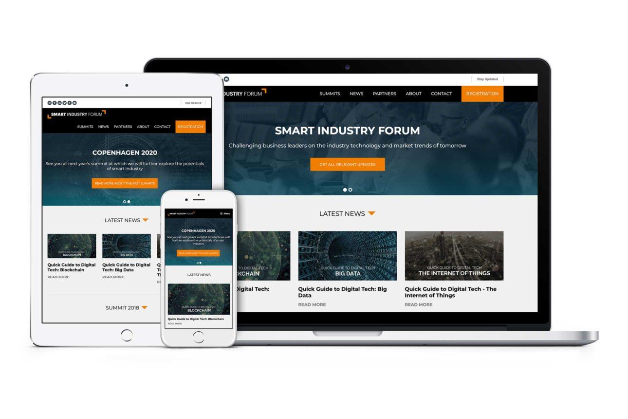 Teknisk fleksibelt website faciliterer mange typer indhold.